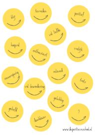 Poster positieve emoties