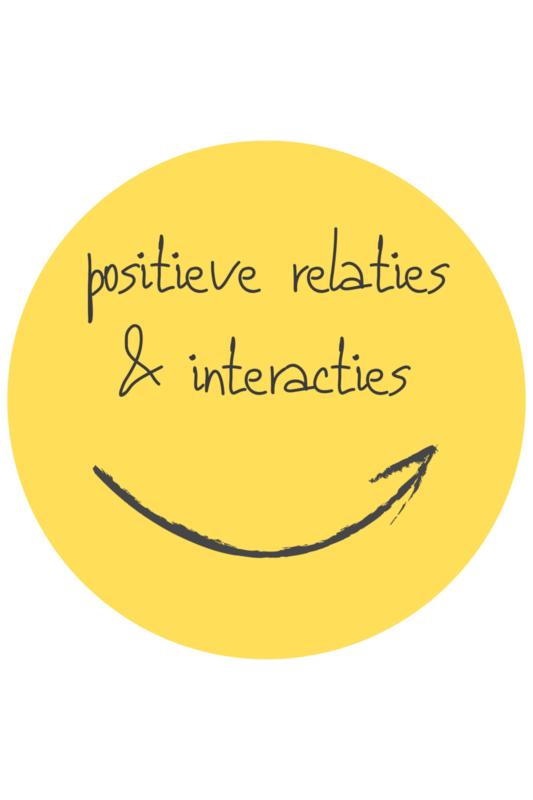 De positieve school module 4: Positieve relaties & interacties - 10 juni 2021