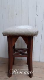 Mooie vintage taborette stoeltje