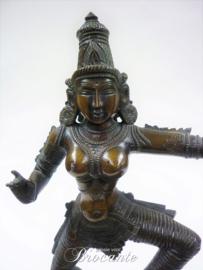 Dansende Shiva in brons (Krishna)
