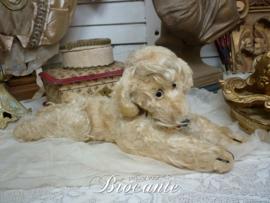 Vintage pluche hond