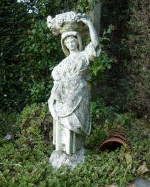 Schitterend oud tuinbeeld 'De oogst'