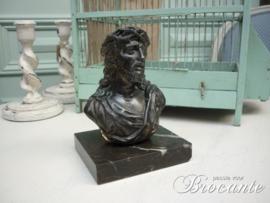 Bronzen beeldje Christus