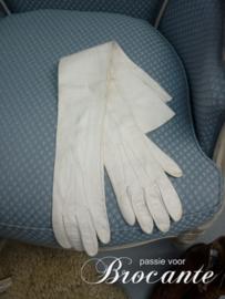 Victoriaanse lederen handschoenen
