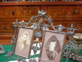 Heel mooi antiek huwelijkslijstje periode Napoleon III