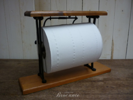 Brocante (keuken) papier rolhouder