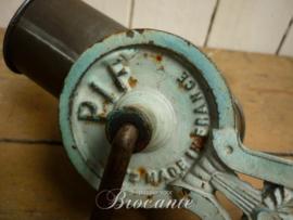 Mooie vintage Franse kaasmolen, zeepmolen, kaasrasp