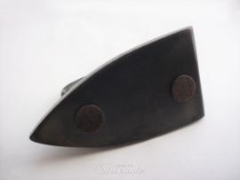 Brocante strijkijzer in gietijzer (kachelbout)  N° 5