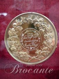Zilveren medailles muziek academie Mechelen 1903/1906