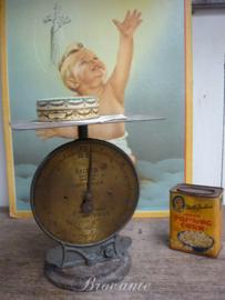 Brocante Salter pakket weegschaal - 10kg