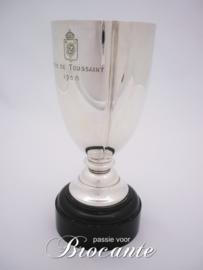 Massief zilveren beker - gehalte 835 Royal Zoute Golf Club (RZGC)