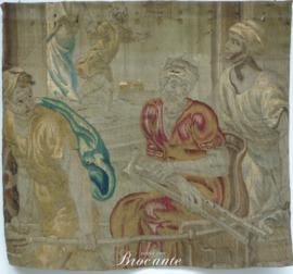 Fragment 17de -eeuws wandtapijt - vermoedelijk Brugs