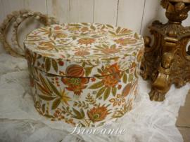 Mooie vintage hoedendoos in karton