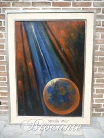 Olie schilderij op doek, M Goossens