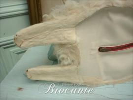 Schattige antieke Franse pyjamahond, Loulou