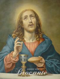 Christus met kelk en brood