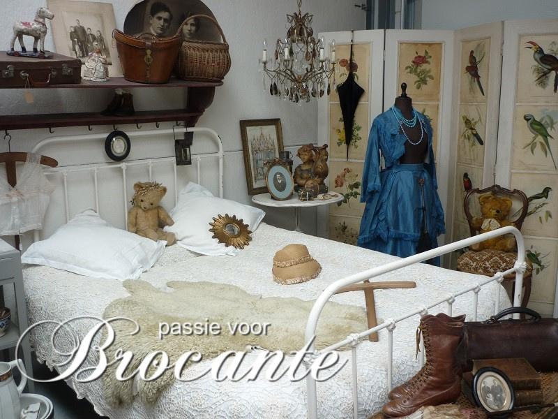 Wonderlijk Frans ijzeren ledikant | BROCANTE WEBWINKEL | Passie voor brocante TN-85