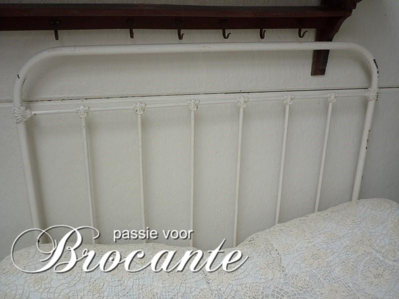 Wonderlijk Frans ijzeren ledikant | BROCANTE WEBWINKEL | Passie voor brocante GJ-03