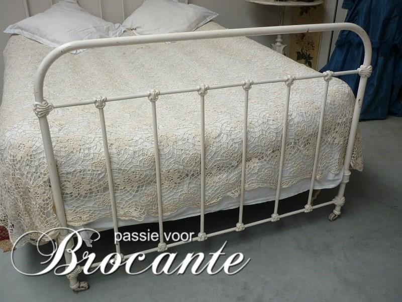 Welp Frans ijzeren ledikant | BROCANTE WEBWINKEL | Passie voor brocante IA-63