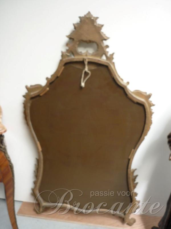 Antieke rococo Italiaanse spiegel