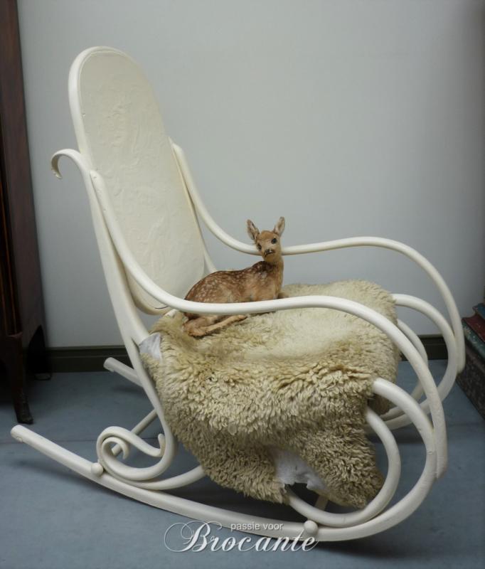 Oude Thonet schommelstoel