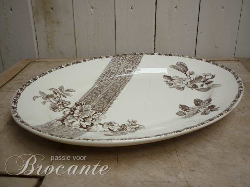 Mooi ovalen bord