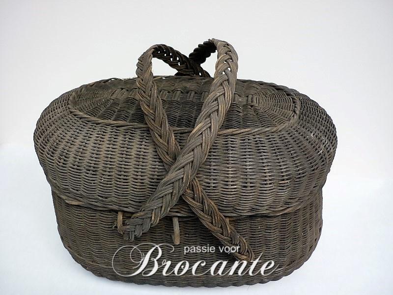 Mooi oud Frans perron mandje