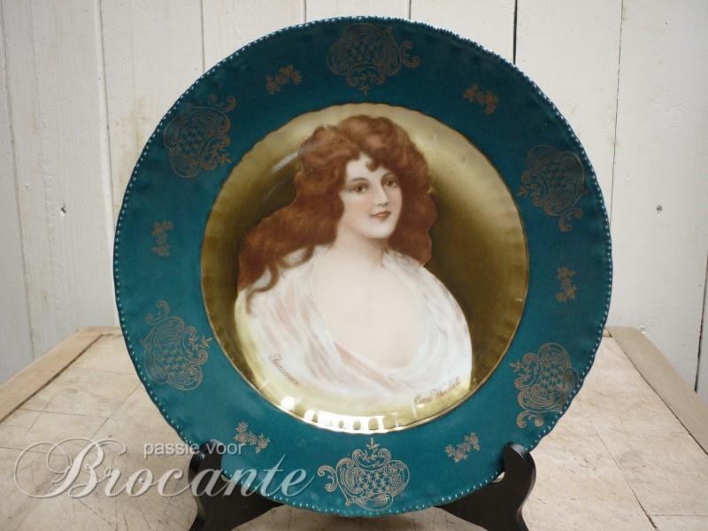 Art nouveau sierbord Innocence Cress Woollett - Victoria