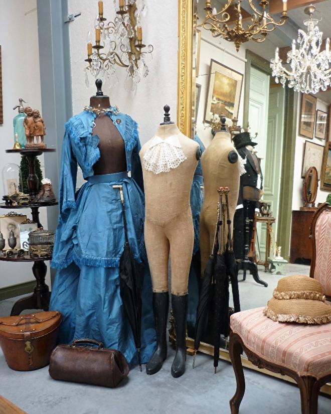brocante mannequins, paspoppen, Napoleon paspop