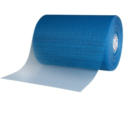 Glass Fiber Mesh Fabric Outdoor Blue