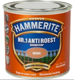 Hammerite Anti Roest - Beige - 0,25 liter