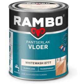 Rambo Pantserlak Vloer - Whitewash 0777 Mat Transparant  - 0,75 liter