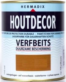 Hermadix Houtdecor  Verfbeits Transparant - Eiken 653 - 2,5 liter