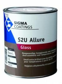 Sigma S2U Allure Gloss - S 7020-B10G Donkerblauwgroen - 2,5 liter