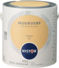 Histor Perfect Finish Muurverf Mat - Ogenblik 6929 - 2,5 Liter