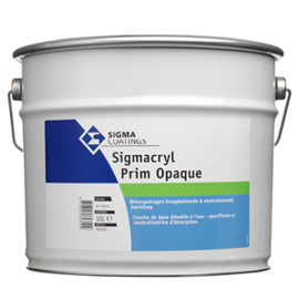 Sigmacryl Prim Opaque - RAL 7021 - 2,5 liter