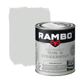 Rambo Tuin & Steigerhout - Steengrijs 1139 - 0,75 liter