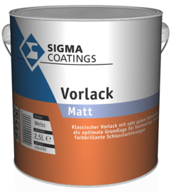 Sigma Aqua Volraak Matt - Wit - 1 liter