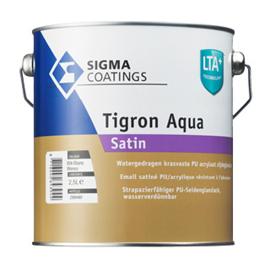 Sigma Tigron Aqua Satin - Wit - 2,5 liter