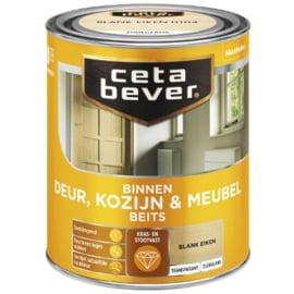 Cetabever Binnen Deur, Kozijn & Meubel Beits Transparant Zijdeglans - Black wash - 0,75 liter