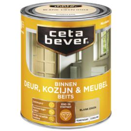 Cetabever Binnen Deur, Kozijn & Meubel Beits Transparant Zijdeglans - Licht eiken - 0,75 liter