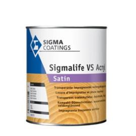 SIgmalife VS Acryl Satin - Ebben - 10 liter