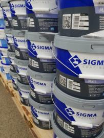 Sigma Perfect Matt - Wit - 5 liter