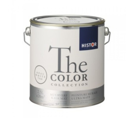 Histor The Color Collection - Opal White 7510 Kalkmat - 2,5 liter