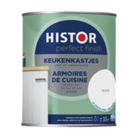 Histor Keukenkastje Hoogglans - Wit - 0,75 liter