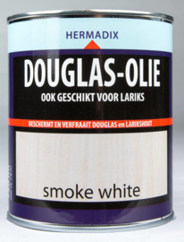 Hermadix Douglas-olie - Smoke white - 0,75 liter