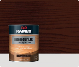 Rambo Interieur Lak Transparant Zijdeglans - Puur Palisander 773 - 0,25 liter