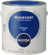 Histor Perfect Finish Muurverf Mat - Doordrongen 6975 - 2,5 Liter
