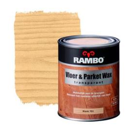 Rambo Vloer & Parket Wax Transparant - Blank 701 - 0,75 liter