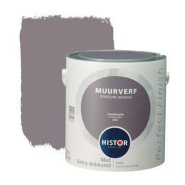 Histor Perfect Finish Muurverf Mat - Combinatie 6458 - 2,5 Liter
